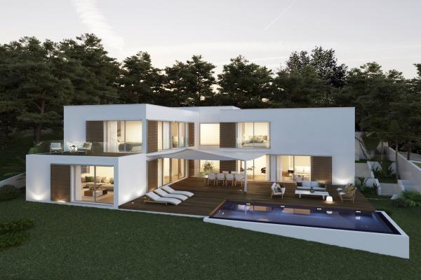 Modernes Villa-Neubauprojekt mit Meerblick in Capdepera