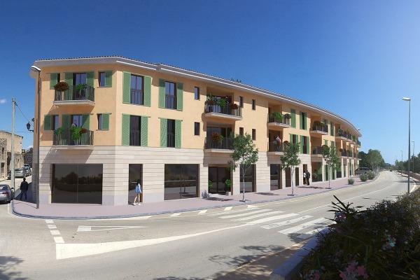 Verschiedene, moderne Neubau-Wohnungen mit 2 oder 3 Schlafzimmern in Santanyi