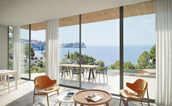 Neubauvilla mit Meerblick in herrlicher Wohnlage in Costa de la Calma