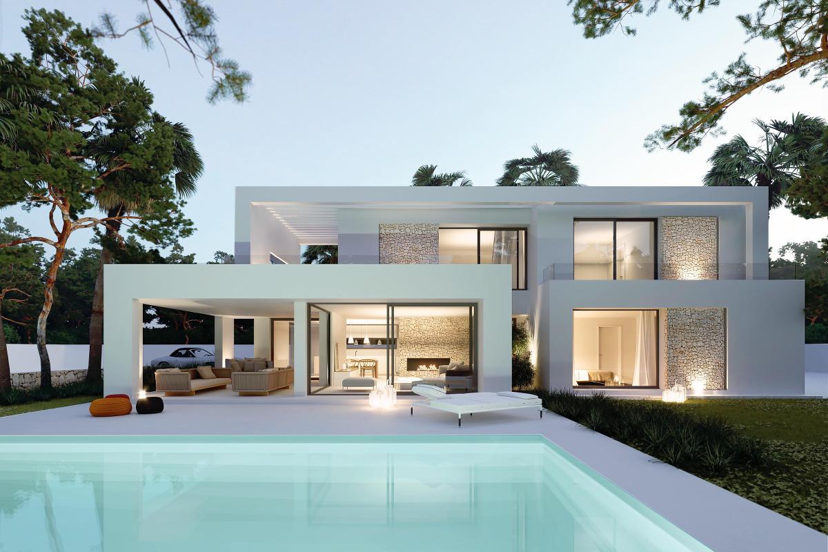 Moderne Villa in Cala Llombards zum Erstbezug